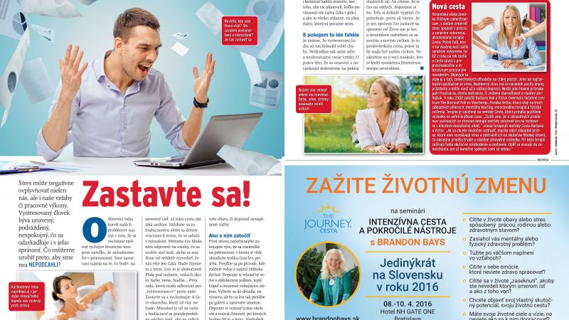 Zastavte sa!, časopis Eurotelevízia