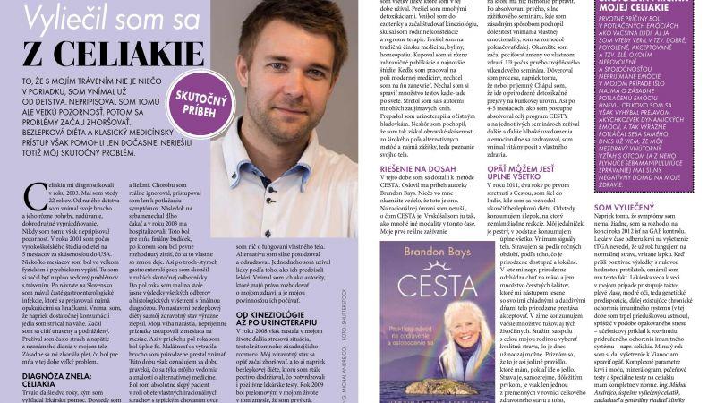 Vyliečil som sa z celiakie, časopis Slovenka